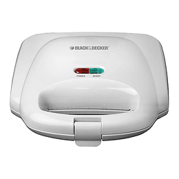 Sanduchera Black + Decker Xpress White