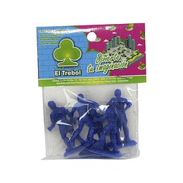 Deportistas Plásticos X 5 Unidades