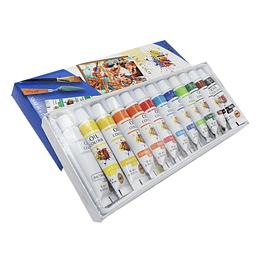 Oleos En Aceite X 12 Colores