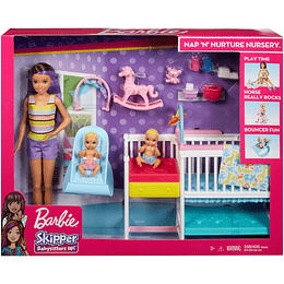 Barbie Skipper Guardería De Bebés