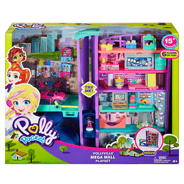 Polly Pocket Mega Centro Comercial