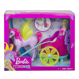 Barbie Princesa Con Carruaje