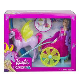 Barbie Princesa Con Carruaje