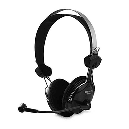 Audífonos Con Micrófono Multimedia Diadema Esenses MH-810