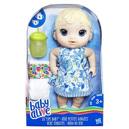 Muñeca Baby Alive - Bebe Sorbitos Rubia