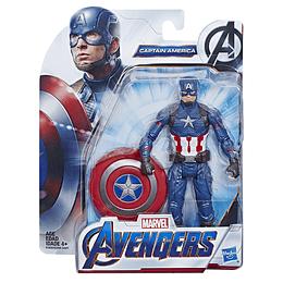 Avengers Figura De Película Endgame 6 Pulg Capitán América
