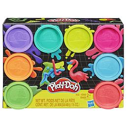 Play Doh X 8 Pack Surtido Neón