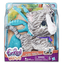 Furreal Friends Walkalots Grandes Paseos Kitty
