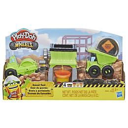 Play-Doh Wheels Grava Y Pavimento