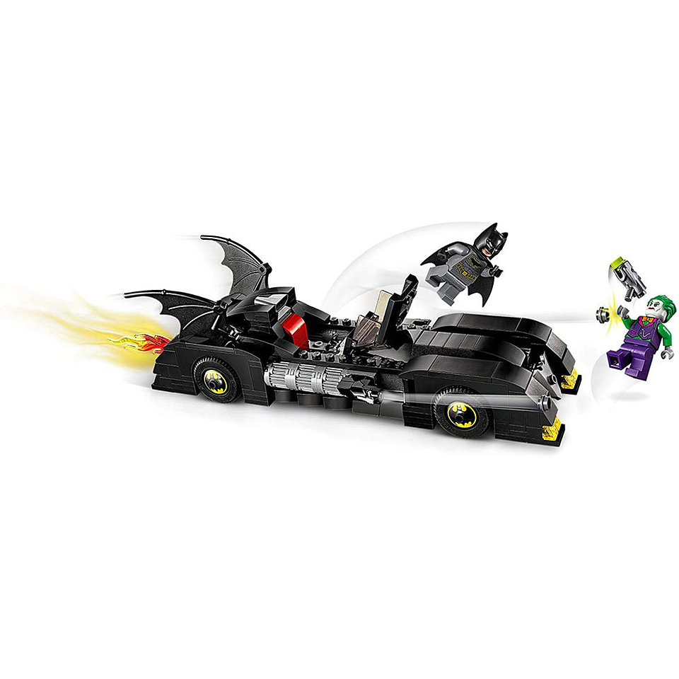 Lego Súper Héroes Persecución Al Guasón En Batimobil