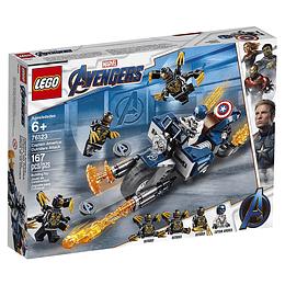 Lego Súper Héroes Avengers Vehículo Del Capitán América