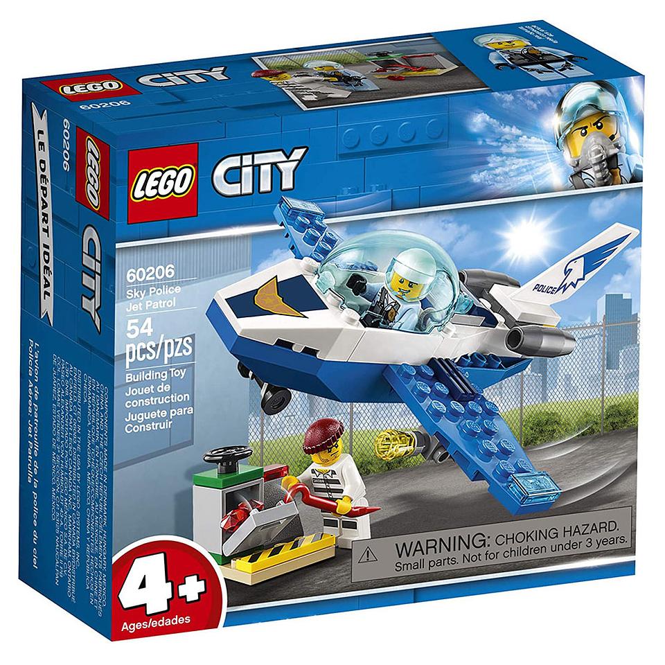 Lego City Patrulla Aérea