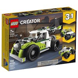 Lego Creator Camión Jet