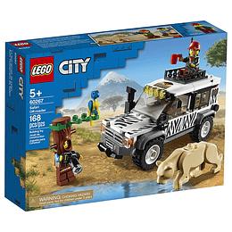 Lego City Auto Todoterreno De Safari