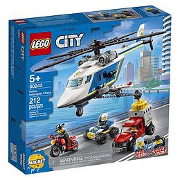 Lego City Policía: Persecución En Helicóptero