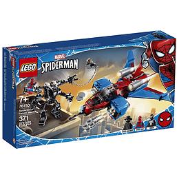 Lego Súper Héroes-Spiderman Jet