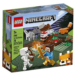 Lego Mine Craft La Aventura De Taiga