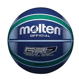 Balón Baloncesto Molten Bgrx7 Azul/Verde