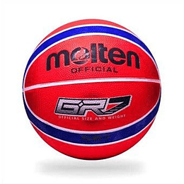 Balón Baloncesto Molten Bgrx7 Rojo