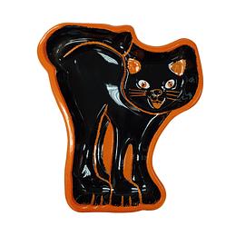 Bandeja Figura de Gato Plástica x 1 Unidad