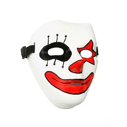 Máscara Arlequín Plástica X 1 Unidad