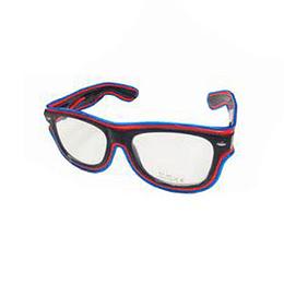 Gafas Led Doble Color Azul/Naranja X 1 Unidad