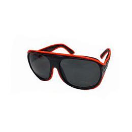 Gafas Led Unicolor Naranja X 1 Unidad