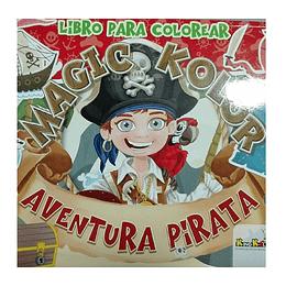 Libro De Colorear Aventura Pirata