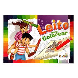 Libro Leito Para Colorear