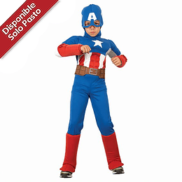 Disfraz Capitan America Avengers Assemble