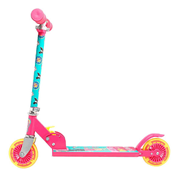Scooter Folding Junior Light  Barbie