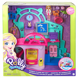Polly Pocket Centro Veterinario