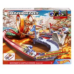 Hot Wheels Mario Kart Pista Castillo De Bowser
