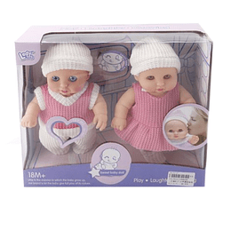 Set X 2 Sweet Baby Doll Sonidos 8.5""