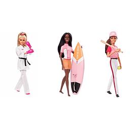 Barbie Olimpiadas Surtido