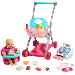 Little Mommy Vamos Al Supermercado