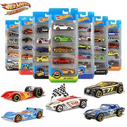 Hot Wheels Autos Básicos Paquete X 5