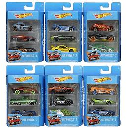 Hot Wheels  Paquete De 3
