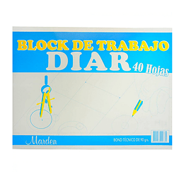 Block Diario 40 Hojas
