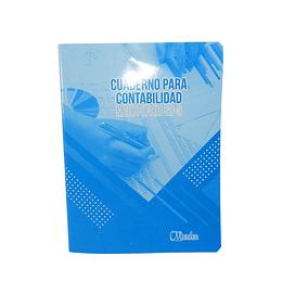 Cuaderno Contabilidad 1/2 Oficio 50-3