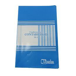 Cuaderno Contabilidad 50-3