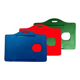 Porta Carnet Plástico Horizontal