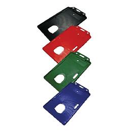 Porta Carnet Plástico Vertical