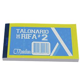 Talonario De Rifa No.2