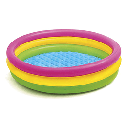 Piscina Inflable Tres Anillos 114  X 25 cm