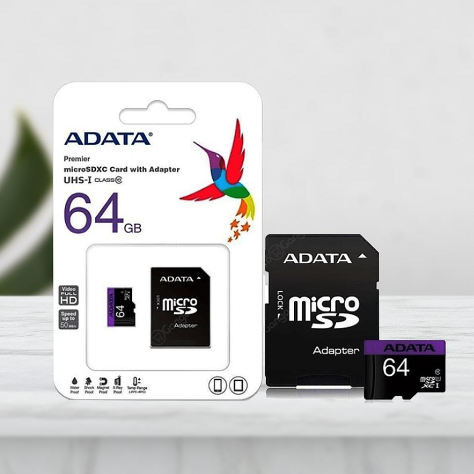 Memoria micro SD 64GB Adata