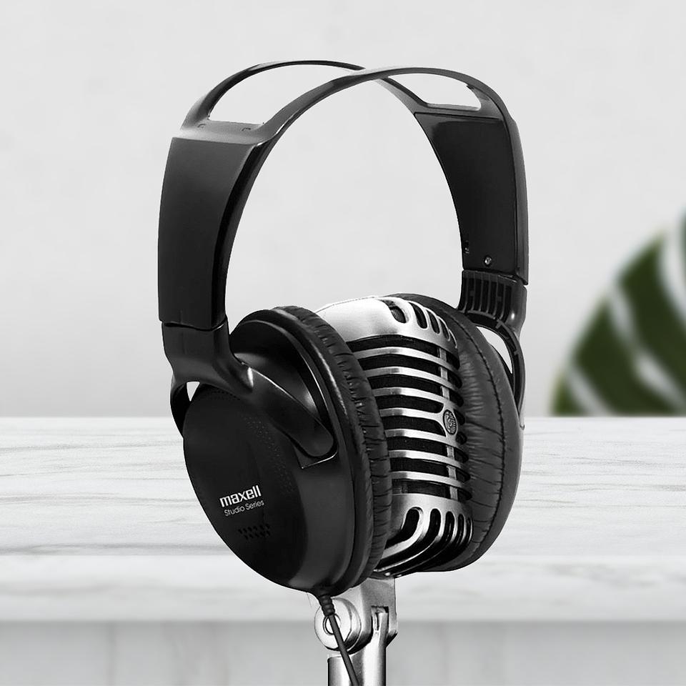 Maxell Audio Studio St-2000 Black Con Microfono