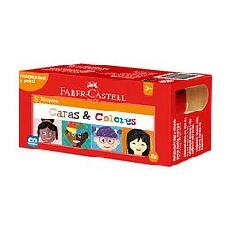 Tempera Caras y Colores Faber-Castell X 8 Unidades