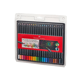 Colores Faber-Castell Supersoft X 24 Unidades
