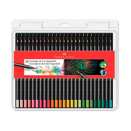 Colores Faber-Castell Supersoft X 50 Unidades